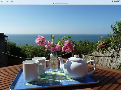 HOLIDAY COTTAGE, VENTNOR, ISLE OF WIGHT, SEA VIEWS, SLEEPS 4 Avail 8,15, 22 June