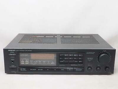 ONKYO TX-810 Quartz Synthesized Tuner Amplifier Works Great! Free Shipping!