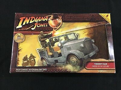 Indiana Jones Raiders of the Lost Ark Troop Car with Projectile New in Package