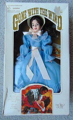 Gone with The Wind ~ World Doll - MELANIE - 1989 -  Box has wear