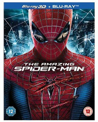 The Amazing Spider-Man 3D Blu Ray