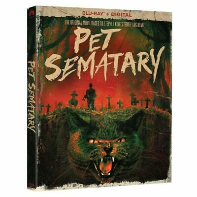 Pet Sematary Blu-ray Only Disc Please Read