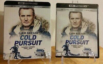 Cold Pursuit 4K Blu-ray Digital Slipcover Brand NEW SEALED VERY RARE SLIPCOVER