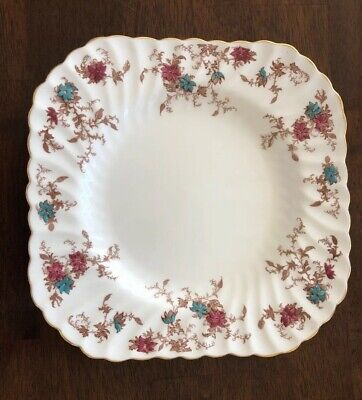 "Minton Ancestral 8 1/2""  Square Luncheon Plate"