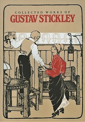 Antique Arts Crafts Gustav Stickley Furniture / Book - Catalogue Reprints