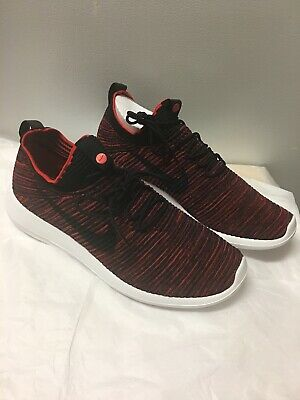 separation shoes 41192 37e23 Nike Roshe Two Flyknit V2 Men s Shoes Chile Red Size 10 918263-601
