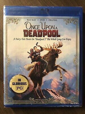 Once Upon A Deadpool Blu-ray + DVD Canadian Bilingual LOOK