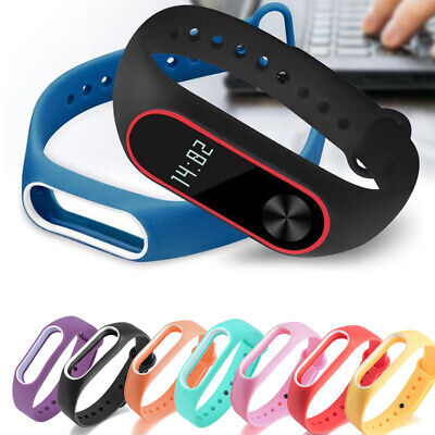 For Xiaomi Mi Band2 Wrist Band Silicone Bracelet Strap Wristband Replacement Hot