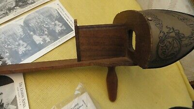 Antique Keystone Eye Comfort Stereoscope~1892 ~ Card Viewer Plus 70 Cards