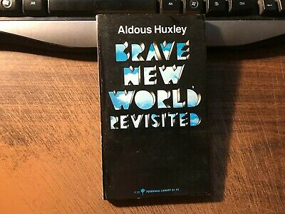 Brave New World Revisited by Aldous Huxley Paperback 1965