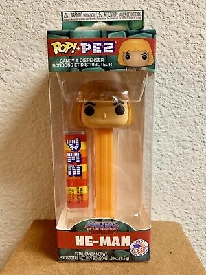 FUNKO POP PEZ Masters Of The Universe HE-MAN MOTU New!