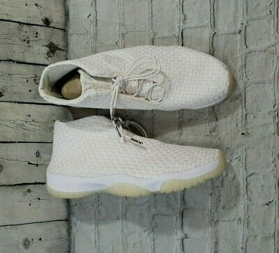 7851f1e0958 Nike Air Jordan Future PHANTOM OFF WHITE SAIL ICE 11 WOVEN 656503-002 MENS  SZ
