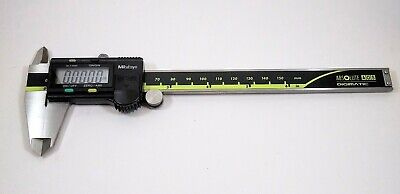 Mitutoyo 6 inch digital caliper. Clean smooth moving and accurate