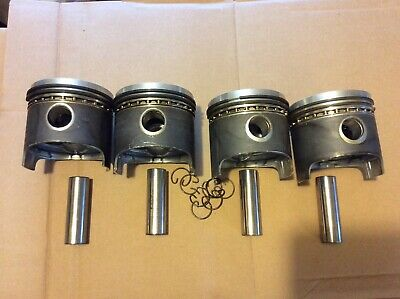 Volkswagen VW Mahle pistons 85.45mm rings pins bug
