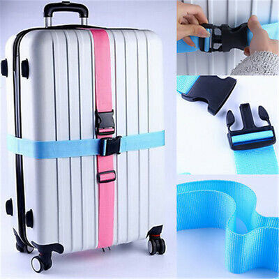 Suitcase Packing Outdoor Nylon Lock Belt Buckle Straps Travel Luggage Tie Down