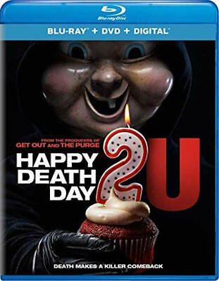 Happy Death Day 2U - [Blu-Ray/Dvd Combo Pack] - New Unopened - Jessica Rothe