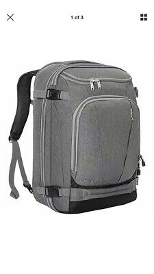 eBags TLS Mother Lode Weekender Convertible Carry-On Travel Backpack Gray