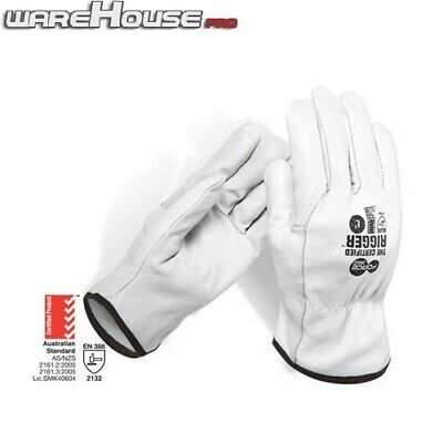 Split Leather Gloves- Force360 Certified Cowhide Riggers Work Glove-S/M/L/XL/XXL