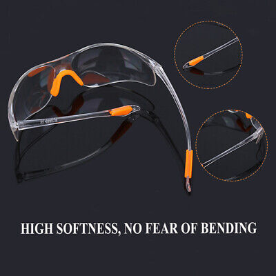 Clear Anti-impact Goggles Safety Glasses Eye Protection Factory Lab Outdoor Work
