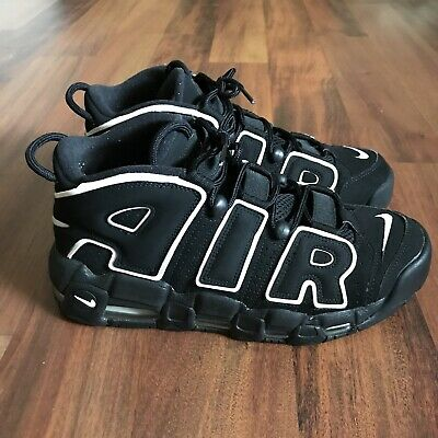 hot sale online 8bb0b 5dd85 NIKE AIR MORE UPTEMPO 96 PIPPEN BLACK WHITE 414962 002 2016 Mens Size Size 9