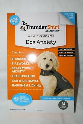 Thundershirt Grey Medium Dog Anxiety Calm