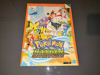 Pokemon Ranger Guardian Signs Official Strategy Guide Nintendo Ds