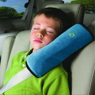 Soft Child Kid Baby Car Seat Belt Pillow Shoulder Pad Cover Head Support SO