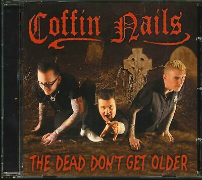 The Coffin Nails - The Dead Don't Get Older (CD) - Psychobilly