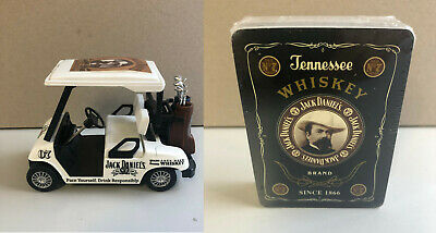Jack Daniels Tennessee Whiskey Playing Cards New & Golf Buggy New