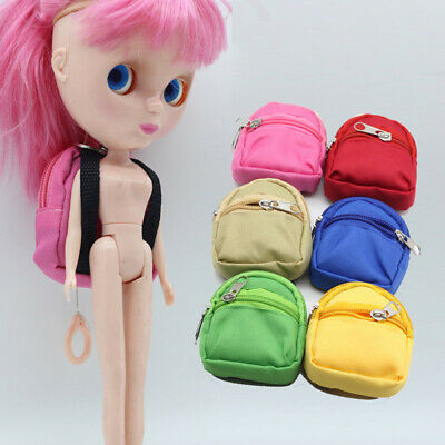 1 Pc Fashion fun Manual Dolls Bag Accessories Backpack Toys for Girls Gift