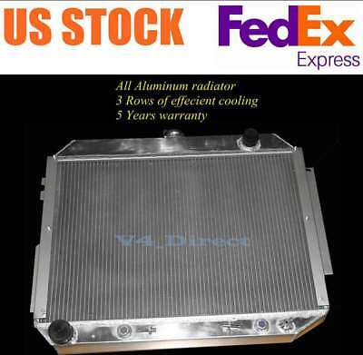 3Row Aluminum Radiator Fits 73-78 Dodge Mopar 6.6L 7.2L 440 V8 Plymouth,Chrysler
