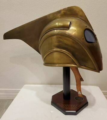 Master Replicas Disney Showcase Collection The Rocketeer Metal Prop Helmet COA !