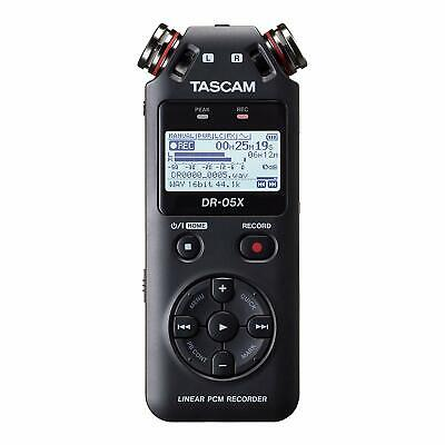 TASCAM DR-05X - Registratore audio stereo portatile professionale con interfacci