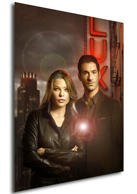 Poster - Locandina - Lucifer - Characters