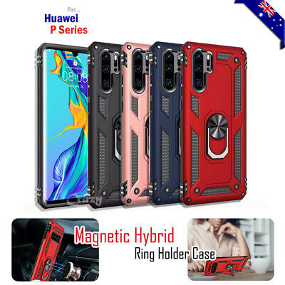 Huawei P30 Pro P30 Lite 360 Magnet Ring Case Shockproof Rugged Heavy Duty Cover