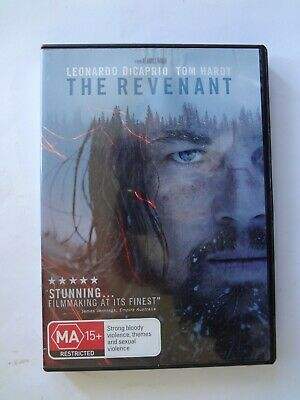 REVENANT, THE: Leonardo DiCaprio, Tom Hardy - VGC