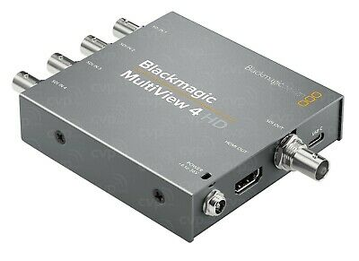 Blackmagic MultiView 4 HD Multi Viewer - USED ONCE