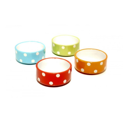 Mason Cash Assorted Polka Dot Small Animal Bowl