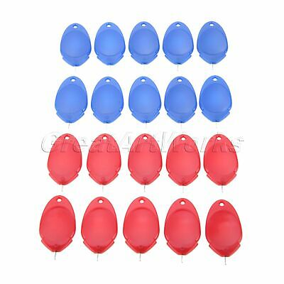 10Pcs Plastic Needle Threaders Red/Blue 4cm Thread Guide DIY Sewing Crafts Tool