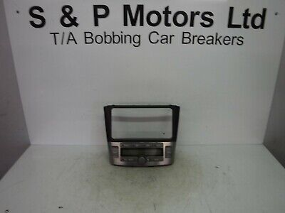 Toyota Avensis 06-08 Climate Control Panel 5590205060