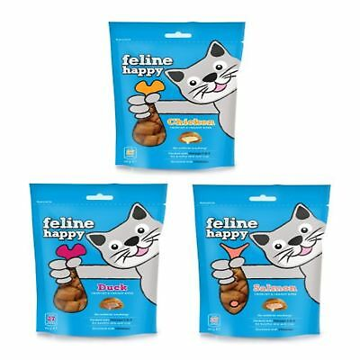 Mark & Chappell Feline Happy Treats 60g - Kätzchen Gourmet Duck Ablauf 05/19
