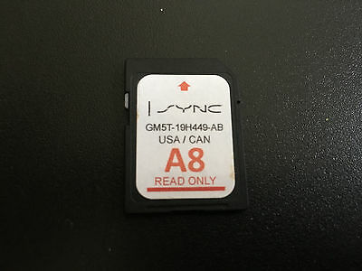 A8 Ford Lincoln Us Canada Sync Gps Navigation Sd Card Map Update Upgrade !!!!!!!