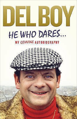 """AS NEW"" Trotter, Derek 'Del Boy', He Who Dares, Book"