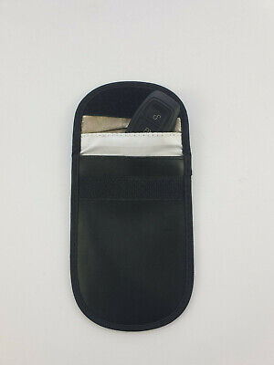 Car Key Signal Blocker Case Faraday Fob Pouch Keyless RFID Blocking Bag