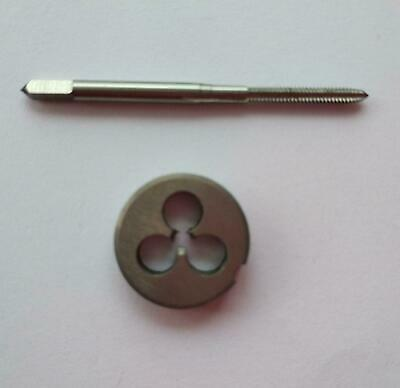 No.0-80 UNF Plug Tap Die Threading Tool for Machine 1.542×0.317 mm Right Hand