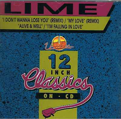 Lime - I Don't Wanna Lose You Remix - Maxi CD NEU - I'm Falling in Love