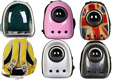 Pet Carrier Backpack/Space Portal or Capsule with Viewing Window