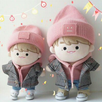 EXO BTS KPOP WANNA ONE Kang Daniel 20cm 15cm Plush Doll's Clothes【WITHOUT DOLL】