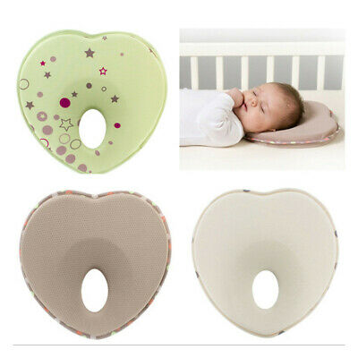 Soft Newborn Baby Anti Roll Cushion Pillow Flat Head Prevent Support Protection