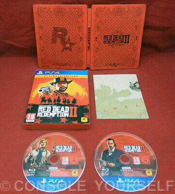 Red Dead Redemption Ii Ultimate Edition - Used No Dlc Or World Map - Ps4 - Uk